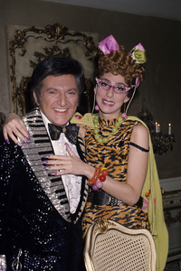 Cher and Lee Liberacecirca 1970s © 1978 Gary Lewis - Image 0967_0235