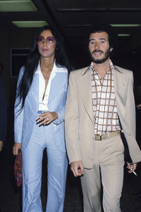Cher and David Geffencirca 1970s © 1978 Gary Lewis - Image 0967_0237
