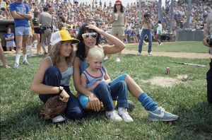 Cher with her children Elijah and Chastity in Las Vegas for the Riviera