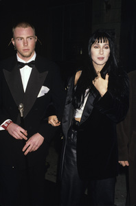 Cher with her son Elijah 1994 © 1994 Gary Lewis - Image 0967_0242