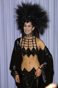 """Cher at """"The 58th Annual Academy Awards"""" 1986 © 1986 Gary Lewis - Image 0967_0254"""