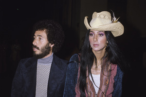 Cher and David Geffencirca 1970s © 1978 Gary Lewis - Image 0967_0261