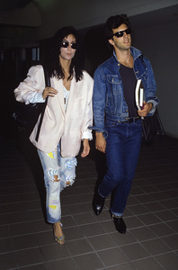 Cher and Rob Camilletti1987 © 1987 Gary Lewis - Image 0967_0263