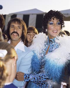 Cher and Sonny Bonocirca 1970s © 1978 Gary Lewis - Image 0967_0267