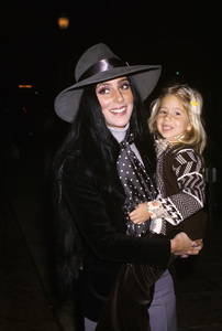 Cher and Chastity Bonocirca 1970s© 1978 Gary Lewis - Image 0967_0272