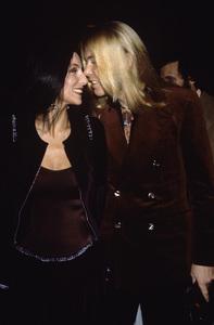 Cher Bono and Gregg Allmancirca 1970s© 1978 Gary Lewis - Image 0967_0276