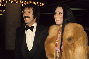 Sonny Bono and Chercirca 1970s© 1978 Gary Lewis - Image 0967_0277