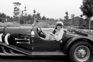 Cher Bono in her Excalibur car in Beverly Hills1967© 1978  Bob Willoughby - Image 0967_0286