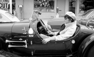 Cher Bono in her Excalibur car in Beverly Hills1967© 1978  Bob Willoughby - Image 0967_0305