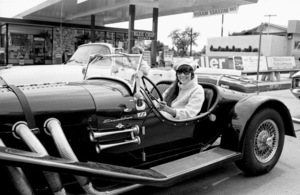 Cher Bono in her Excalibur car in Beverly Hills1967© 1978  Bob Willoughby - Image 0967_0306