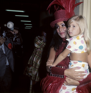 Cher with her daughter, Chastity Bonocirca 1970s© 1978 Jean Cummings - Image 0967_0312