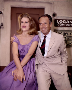 Jane Fonda with father Henry Fonda1960 - Image 0968_0015