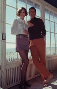 Jane Fonda and Roger Vadim 1969 © 1978 Bruce McBroom - Image 0968_1086