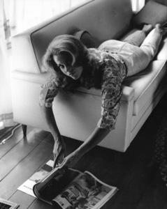 Jane Fonda at home1966 © 1978 Gene Trindl - Image 0968_1100