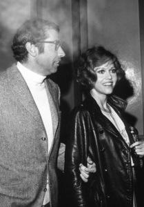 "Jane Fonda with Roger Vadim at thescreening of ""Goodbye, Columbus"" at theDirectors Guild Theatre, 1969. © 1978 Joe Shere - Image 0968_1109"