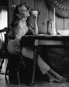 Jane Fonda at home1966© 1978 Gene Trindl - Image 0968_1114