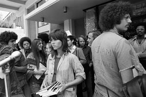 Jane Fonda at an anti-war rallycirca 1973 © 1978 Gunther - Image 0968_1155