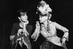 """Jane Fonda and Diane Ladd in a production of """"Womanspeak""""1976 © 1978 Ulvis Alberts - Image 0968_1171"""