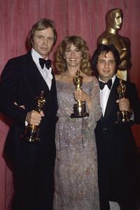 "Jane Fonda, Jon Voight and Michael Cimino at ""The 51st Annual Academy Awards""1979 © 1979 Gary Lewis - Image 0968_1174"