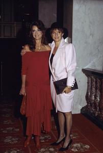 Jane Fonda and Barbra Streisand1984 © 1984 Gary Lewis - Image 0968_1176
