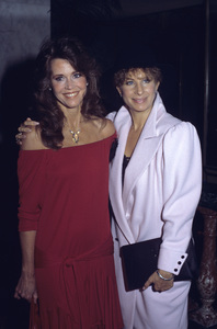 Jane Fonda and Barbra Streisand1984 © 1984 Gary Lewis - Image 0968_1183