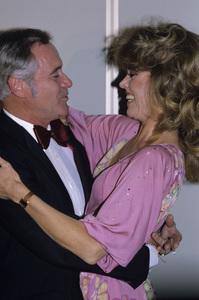 Jane Fonda and Jack Lemmoncirca 1980s © 1980 Gary Lewis - Image 0968_1184