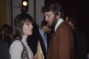 Jane Fonda and Donald Sutherland1971 © 1978 Gary Lewis - Image 0968_1194