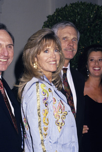 Jane Fonda and Ted Turnercirca 1990s © 1990 Gary Lewis - Image 0968_1197