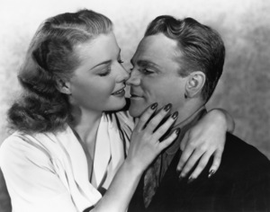 James Cagney and Ann Sheridancirca 1945 - Image 0969_0001