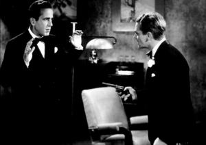 "James Cagney and Humphrey Bogart in ""The Roaring Twenties,"" 1939 Warner Bros.MPTV - Image 0969_0018"