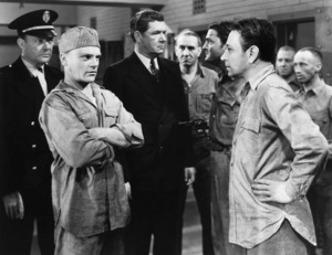 "James Cagney, Willard Robertson, Edward Pawley and George Raft in ""Each Dawn I Die"" 1939 Warner - Image 0969_0020"
