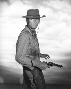 "Clint Eastwood in ""Rawhide""circa 1959Photo by Gabi Rona - Image 0973_0007"