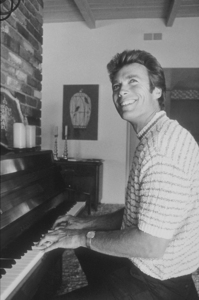 Clint Eastwood at home in the Hollywood Hills, CA, 1965. © 1978 GuntherMPTV - Image 0973_0774