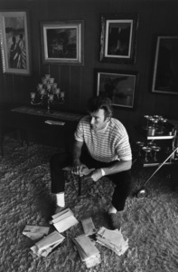 Clint Eastwood at home in the Hollywood Hills, CA 1965 © 1978 Gunther - Image 0973_0777