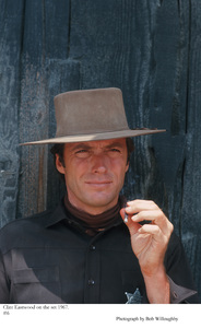 """Clint Eastwood on the set of """"Hang 'Em High"""" 1967 © 1978 Bob Willoughby - Image 0973_0792"""