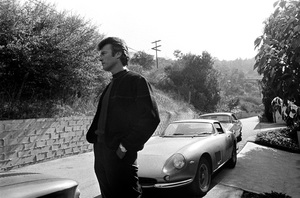 Clint Eastwood with his Ferrari 275 GTB 1965 © 1978 Gunther - Image 0973_0816