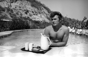 Clint Eastwood at home1961 © 2005 Michael Levin - Image 0973_0820