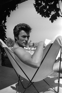 Clint Eastwood at home1961 © 2005 Michael Levin - Image 0973_0822