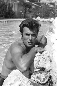 Clint Eastwood at home1961 © 2005 Michael Levin - Image 0973_0843