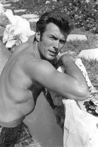 Clint Eastwood at home1961 © 2005 Michael Levin - Image 0973_0844