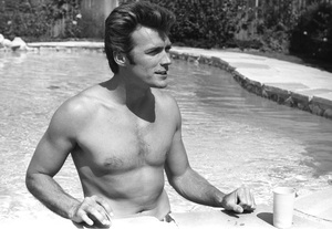 Clint Eastwood at home1961 © 2005 Michael Levin - Image 0973_0846
