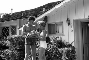 Clint Eastwood and wife Maggie Johnson at home1961 © 2005 Michael Levin - Image 0973_0856
