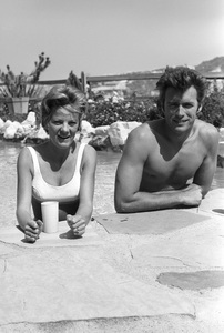 Clint Eastwood and wife Maggie Johnson at home1961 © 2005 Michael Levin - Image 0973_0858