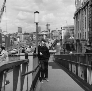 "Clint Eastwood touring London during the making of ""Where Eagles Dare""1968** I.V. - Image 0973_0883"