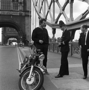 """Clint Eastwood touring London during the making of """"Where Eagles Dare""""1968** I.V. - Image 0973_0884"""