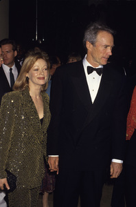 Clint Eastwood and Frances Fishercirca 1990s© 1990 Gary Lewis - Image 0973_0907