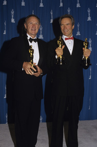 """Clint Eastwood and Gene Hackman at """"The 65th Annual Academy Awards""""1993© 1993 Gary Lewis - Image 0973_0909"""