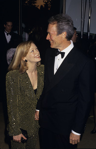Clint Eastwood and Frances Fishercirca 1990s© 1990 Gary Lewis - Image 0973_0914