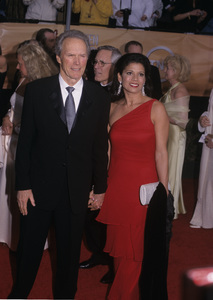 Clint Eastwood and wife Dina Ruizcirca 1990s© 1990 Gary Lewis - Image 0973_0925