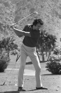 Clint Eastwood at a golf tournamentcirca 1970s© 1978 Gary Lewis - Image 0973_0944
